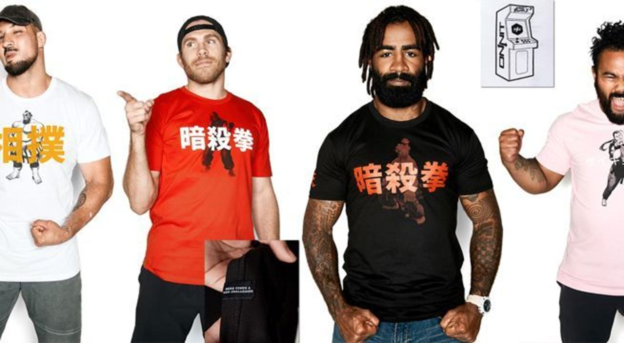 23524ec9 A Stylish 'Street Fighter' T-Shirt Collection Arrives From Onnit