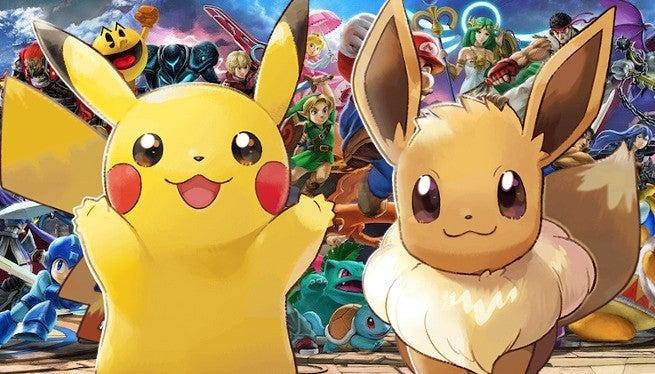 Super Smash Bros Ultimate Pokemon Let's Go