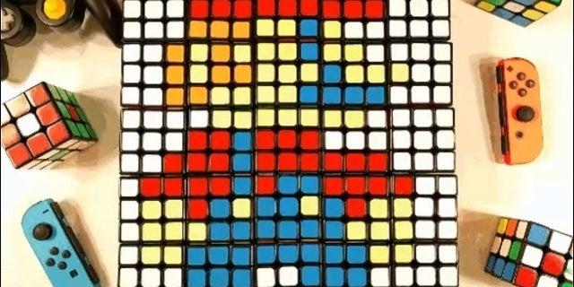 Super Smash Bros Ultimate Rubiks Cube