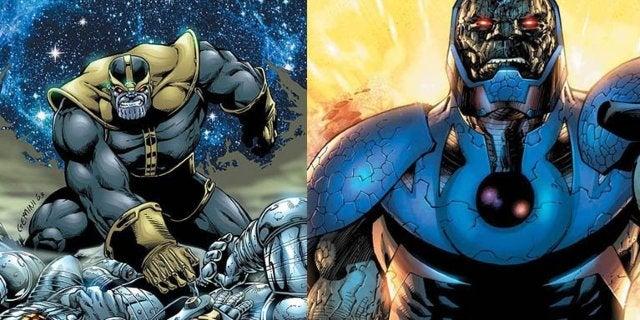 thanos versus darkseid