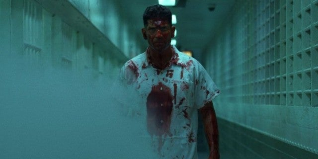The Punisher Bernthal bloodied