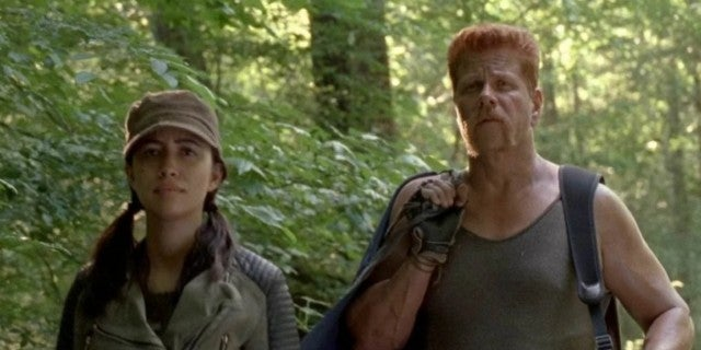 The Walking Dead Abraham Rosita