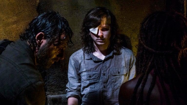 The Walking Dead Carl death