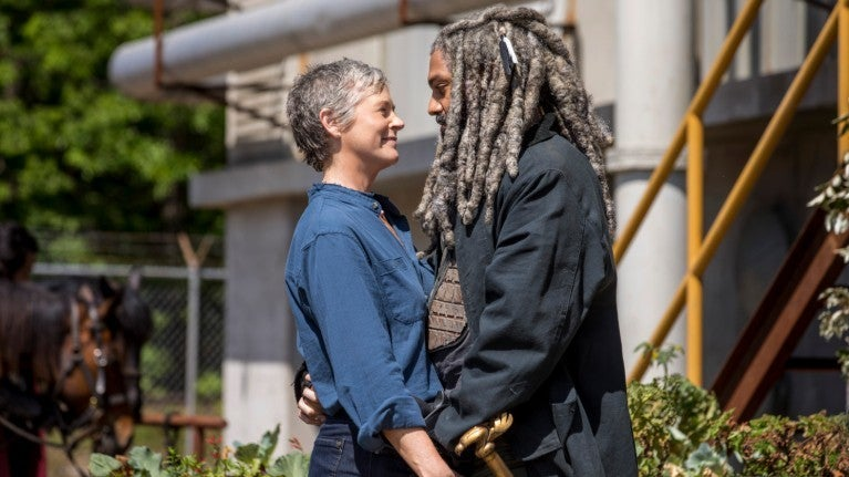 The Walking Dead Carol Ezekiel