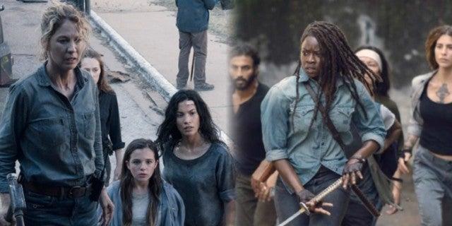 The Walking Dead Fear merger
