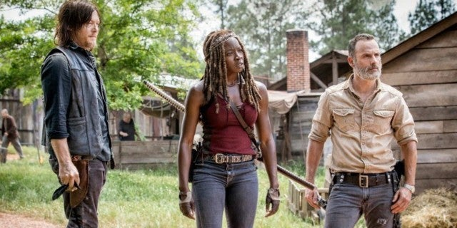 The Walking Dead Rick Michonne Daryl