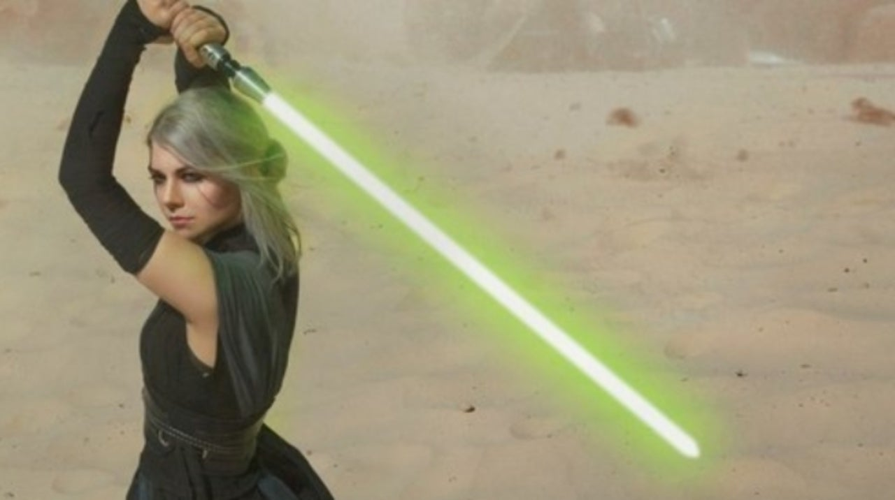 The Witcher' and 'Star Wars' Collide With This Ciri Cosplay
