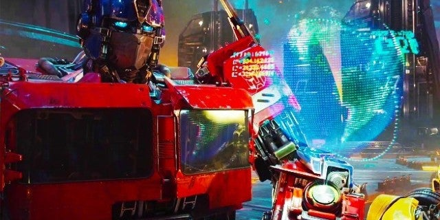 Transformers Bumblebee TV Trailer Optimus Prime Cybertron
