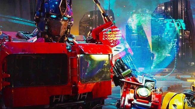 Transformers Bumblebee TV Trailer Optimus Prime Cybertron