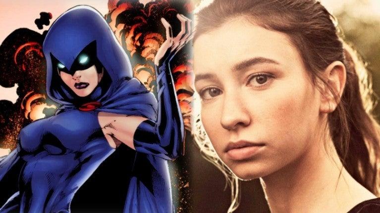 Walking Dead Katelyn Nacon DC Raven comicbookcom