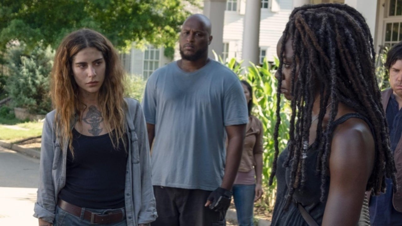 The Walking Dead S Nadia Hilker Teases Magna S Dark And Seedy Backstory