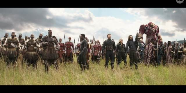 Where Was Hawkeye During Avengers Infinity War screen capture