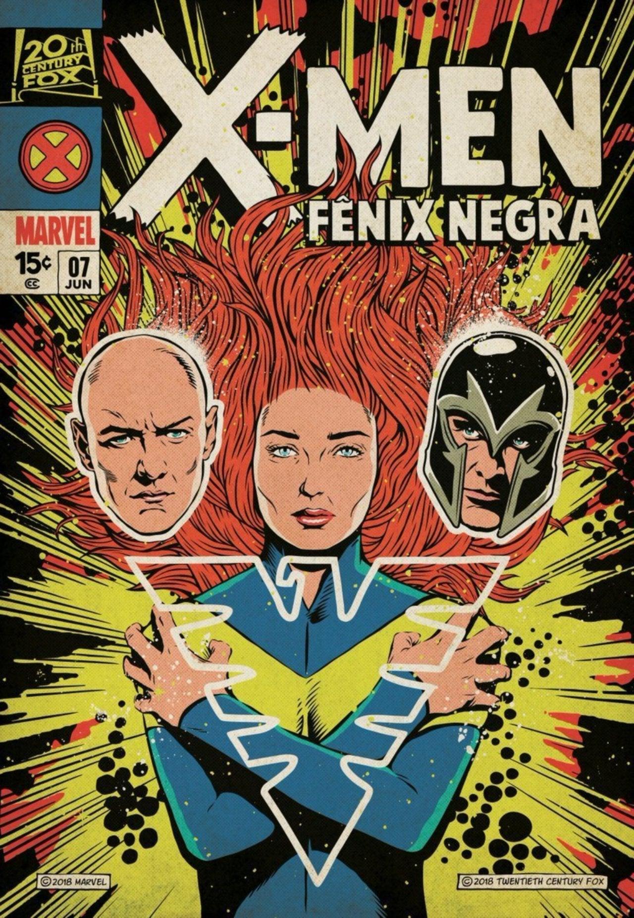 New X Men Dark Phoenix Poster Released