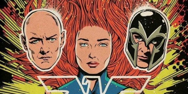 X-Men Dark Phoenix Movie Poster Comic Book Cover Art