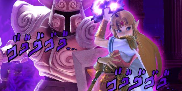 Zelda-JoJo-Smash-Bros
