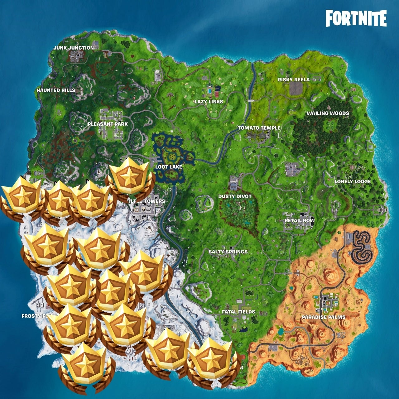 Fortnite How To Solve The Search Chilly Gnomes Challenge
