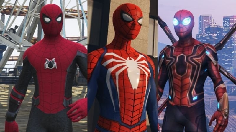 This 'GTA V' Mod Brings 'Marvel's Spider-Man' to Los Santos, Plus