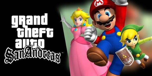 'Super Smash Bros.' Invades 'Grand Theft Auto' With This Mod