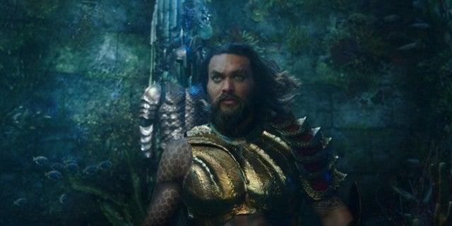Aquaman Movie Visual Effects Underwater Hair