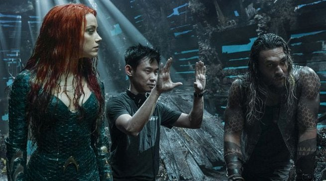 Aquaman Oscars Visual Effects Nomination James Wan