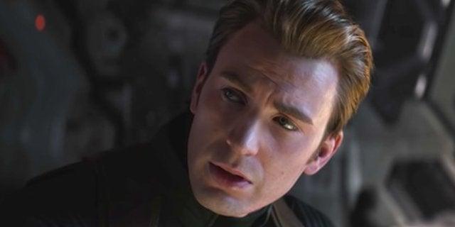 Avengers 4 Endgame Captain America White Costume
