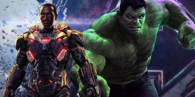 Avengers Endgame Hulk War Machine comicbookcom