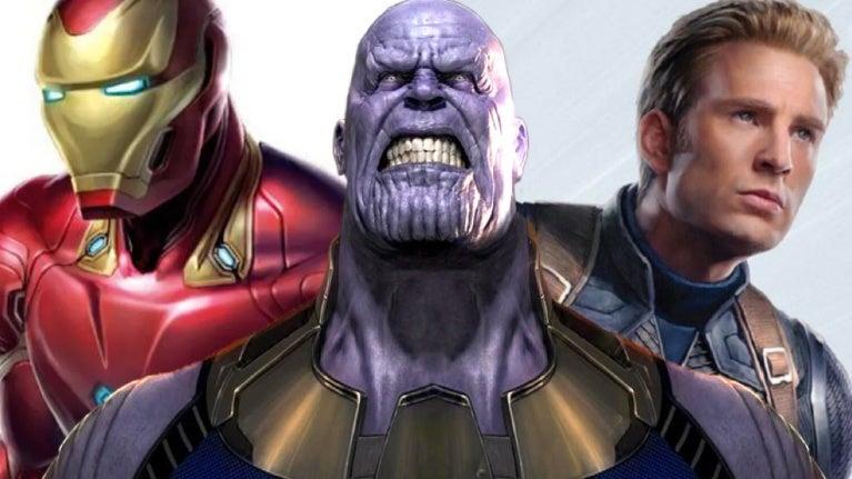Avengers Endgame Iron Man Thanos Captain America comicbookcom