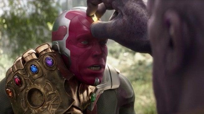 Avengers Endgame Vision Alive Mind Stone
