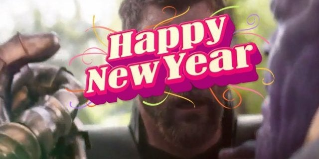 Avengers Infinity War New Years Snap Midnight Video