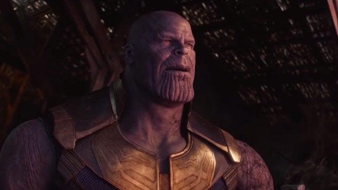 Guerra dos Infinitos Vingadores Thanos
