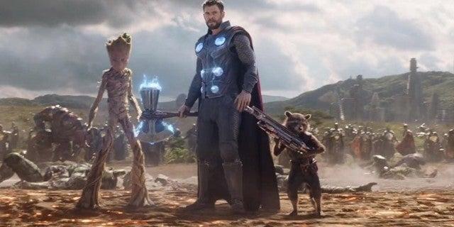 avengers infinity war thor wakanda