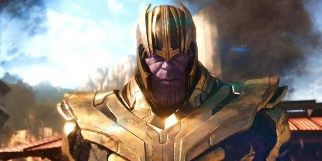 Avengers Infinity War Young Thanos Concept Art