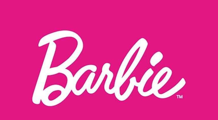 barbie mattel logo