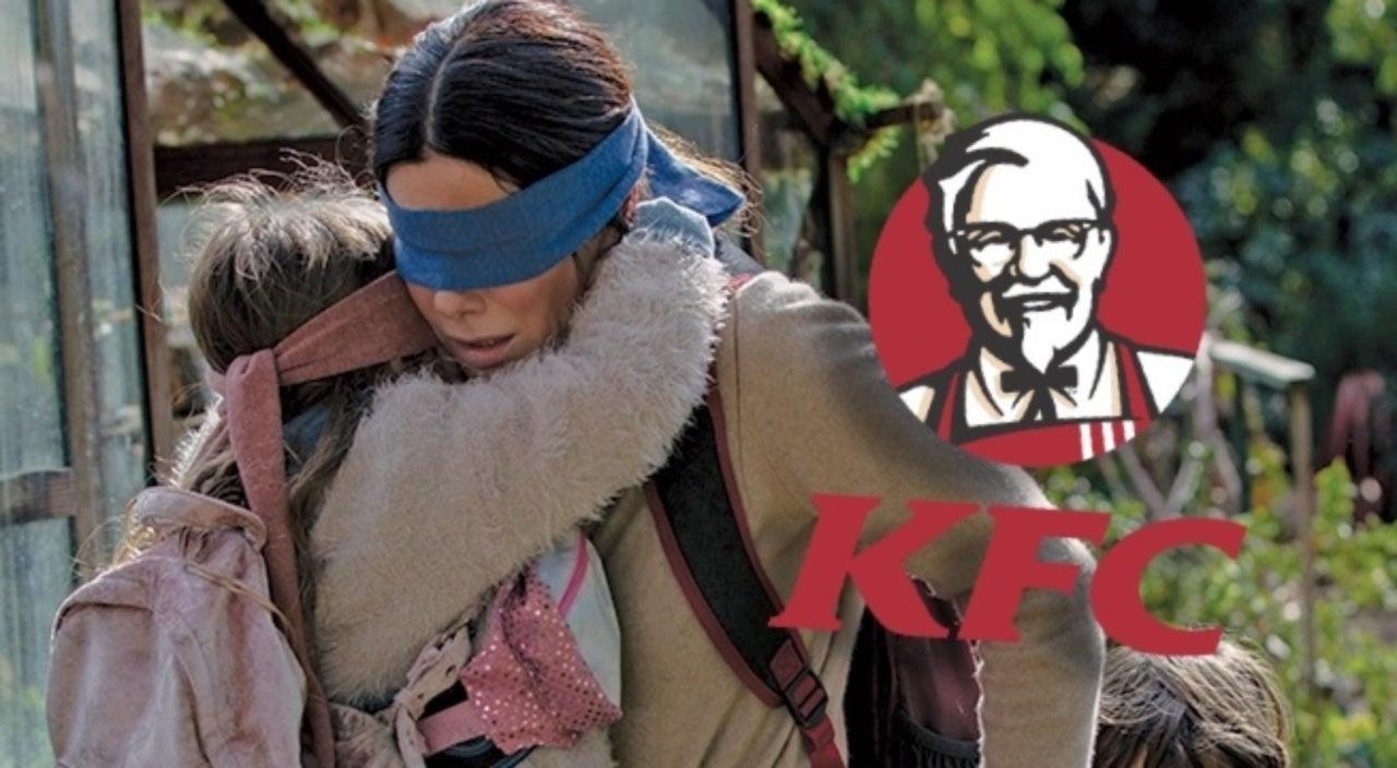 Kfc Wins The Bird Box Meme Battle