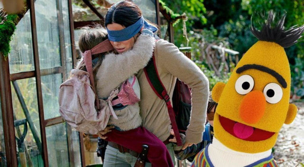 Fan Art Imagines A Bird Box And Sesame Street Mashup