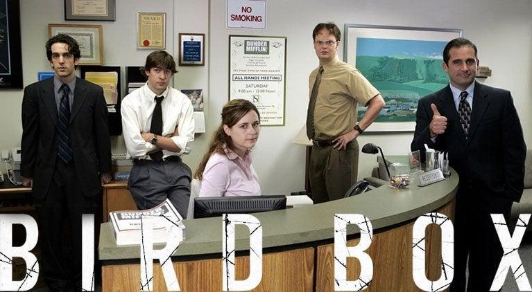 bird box the office