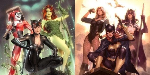 Birds of Prey Gotham City Sirens Movies Crossover Trilogy