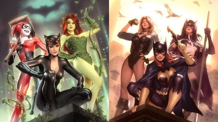 Birds of Prey Gotham City Sirens Movies Crossover Trilogy