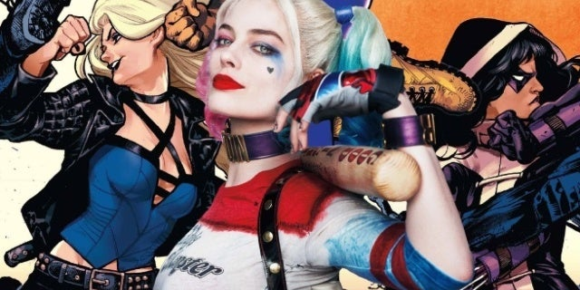 birds of prey movie production start