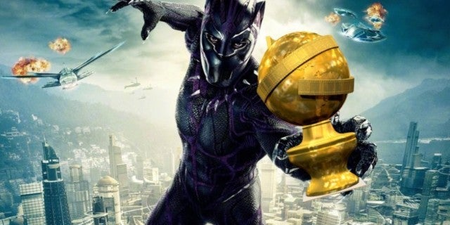 Black Panther Golden Globes comicbookcom