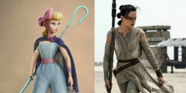 How Rey From Star Wars Influenced Bo Peep in Toy Story 4