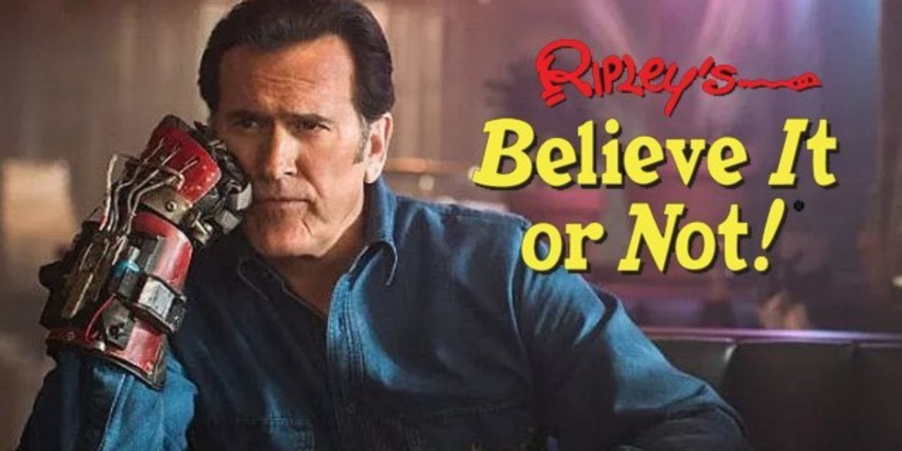 Ripley's Believe it or not! will bring back Bruce Campbell