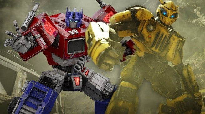 Bumblebee Movie Optimus Prime