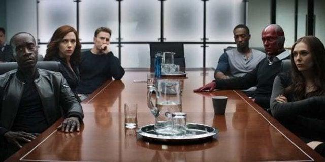 Captain America Civil War Sokovia Accords