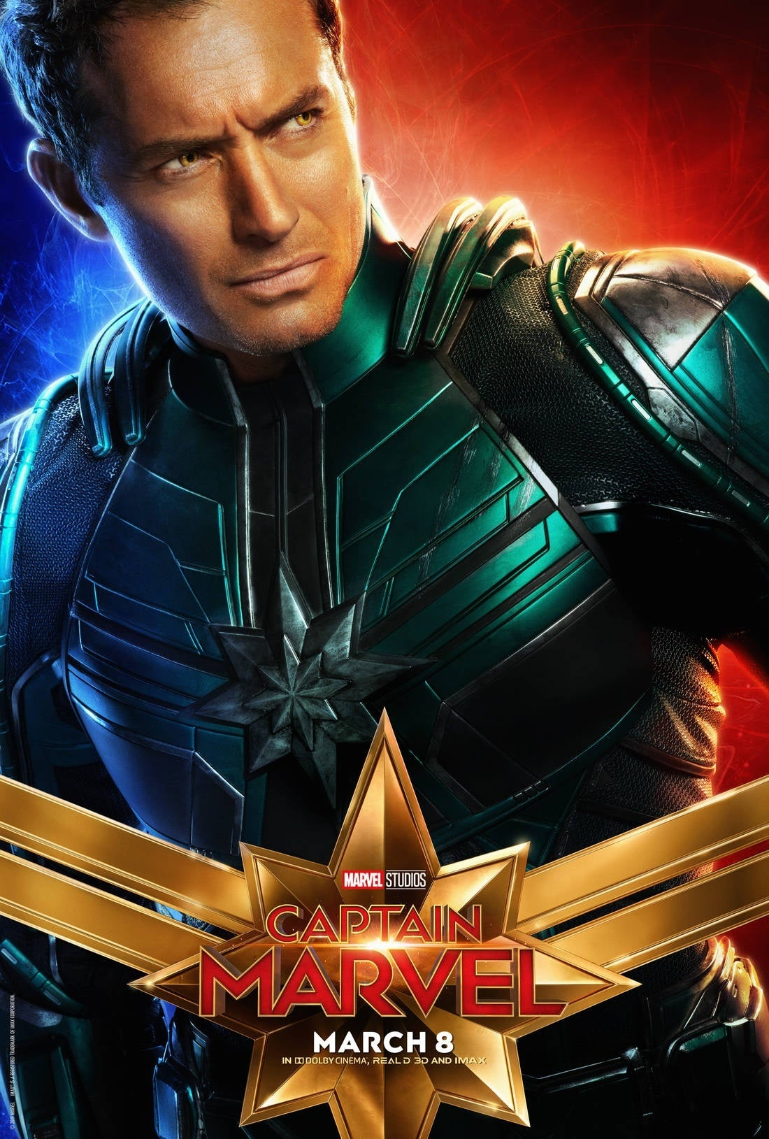 captain marvel character poster 3