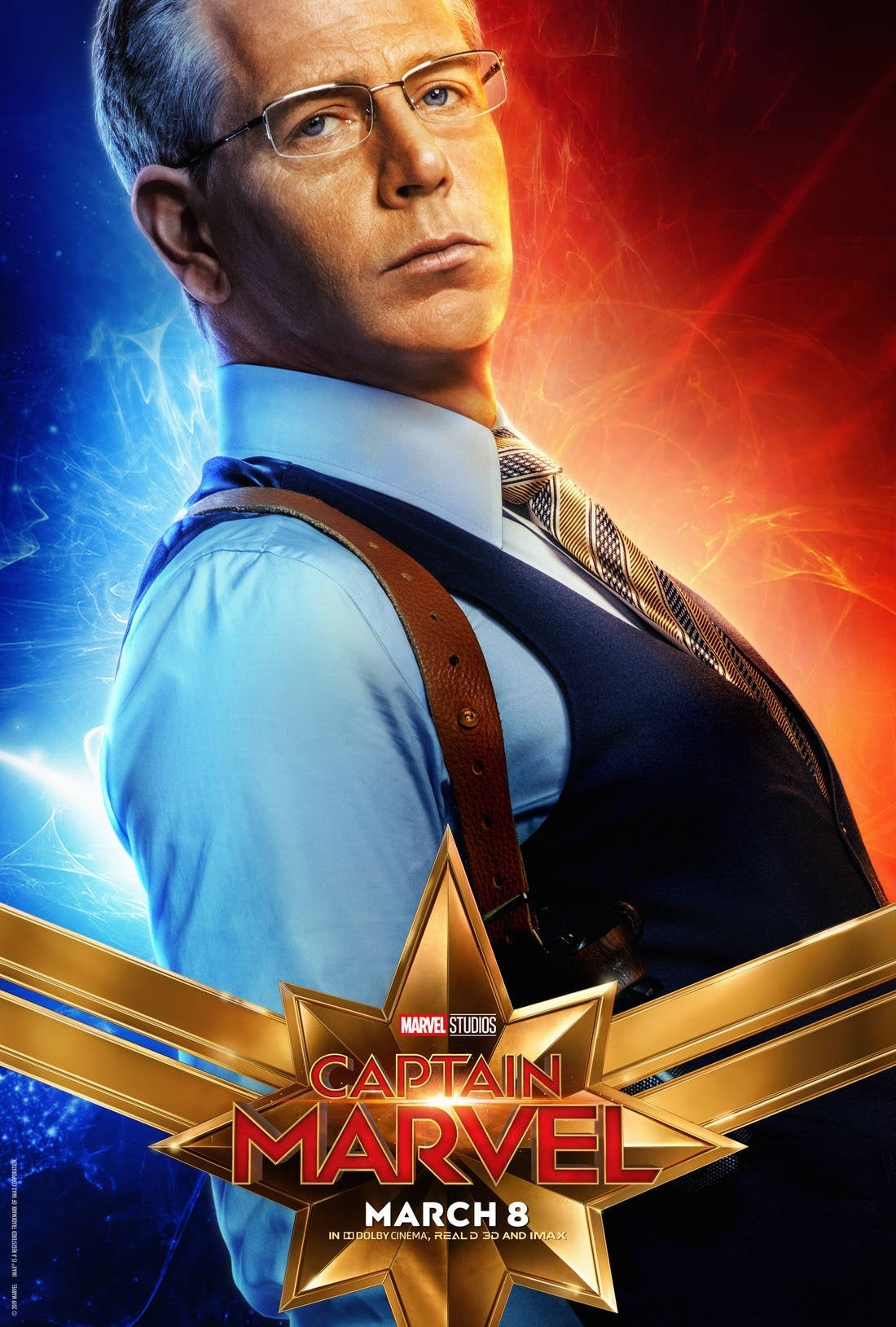 captain marvel character poster 4