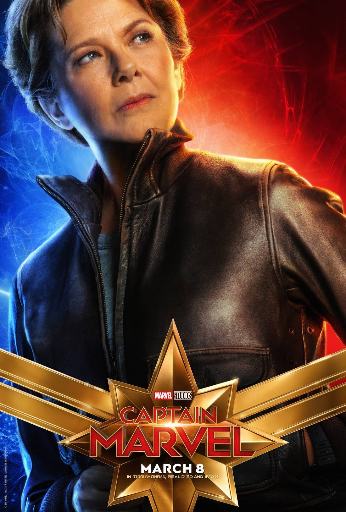 captain marvel character poster 5