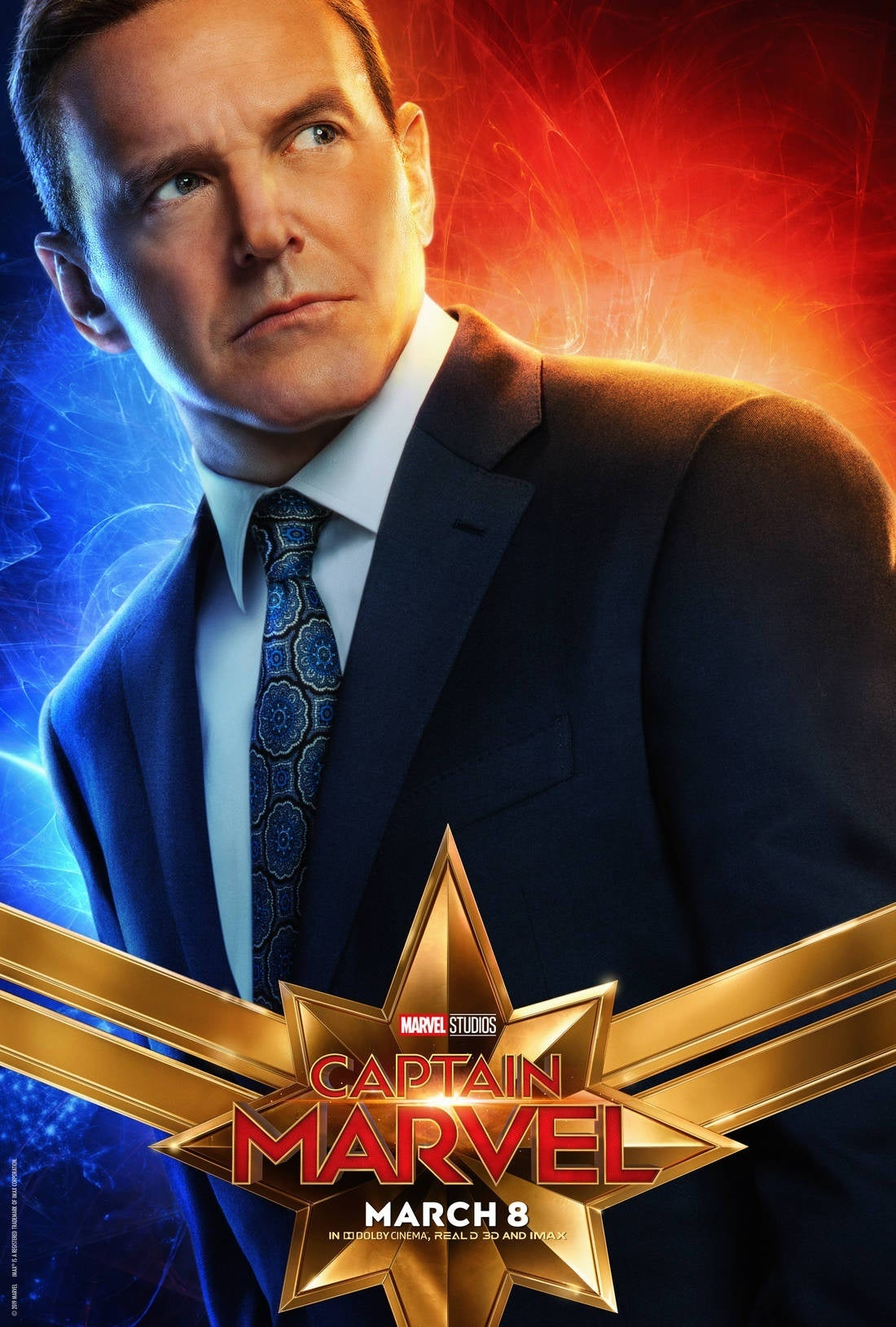 captain marvel character poster 6