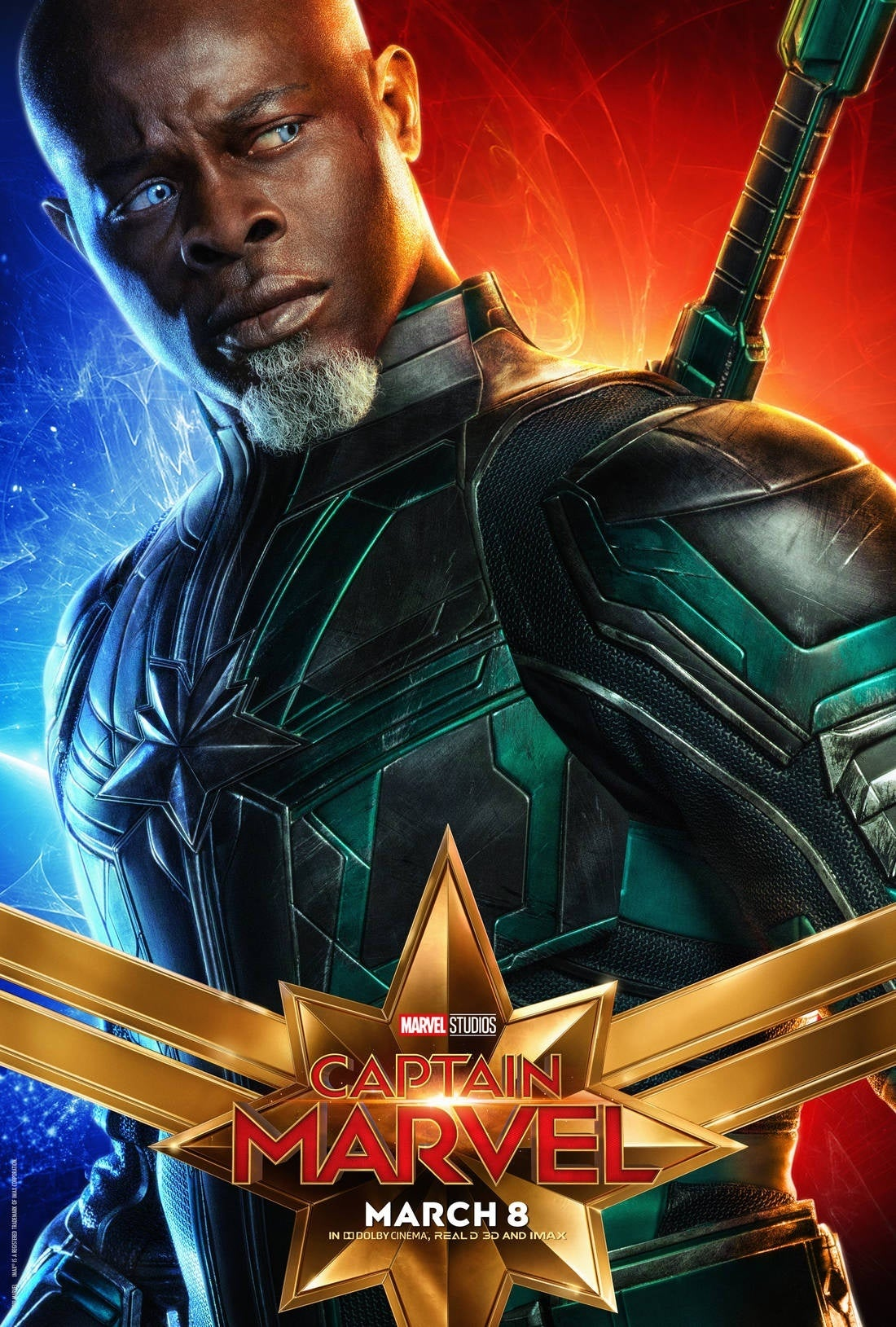 captain marvel character poster 7