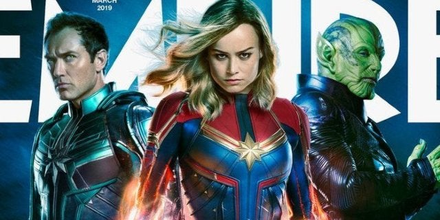 'Captain Marvel's Brie Larson Declares Herself the Mark Ruffalo of 2019, Possibly Spoils New Cover